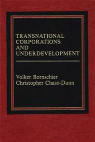 Transnational Corporations and Underdevelopment. cover image