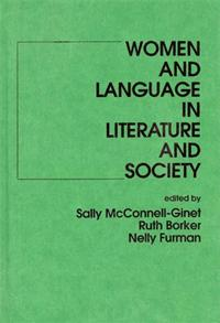 Cover image for Women and Language in Literature and Society