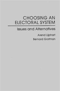 Choosing an Electoral System cover image