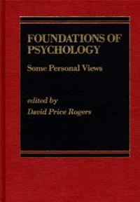 Foundations of Psychology cover image