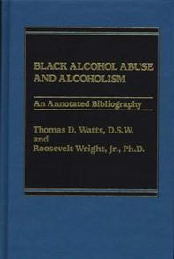 Black Alcohol Abuse and Alcoholism cover image