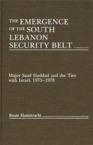 The Emergence of the South Lebanon Security Belt cover image