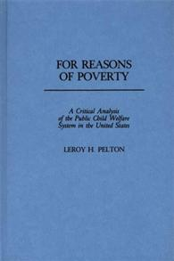 For Reasons of Poverty cover image