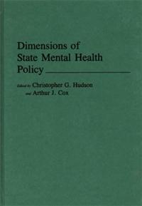 Dimensions of State Mental Health Policy cover image