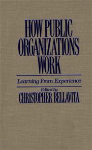 How Public Organizations Work cover image