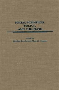 Social Scientists, Policy, and the State cover image