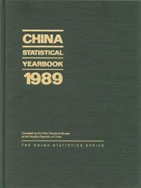 China Statistical Yearbook 1989 cover image