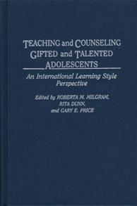 Teaching and Counseling Gifted and Talented Adolescents cover image