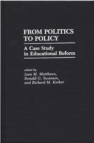 From Politics to Policy cover image
