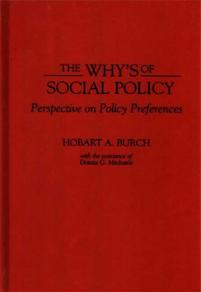 The Why's of Social Policy cover image
