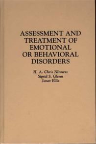 Assessment and Treatment of Emotional or Behavioral Disorders cover image