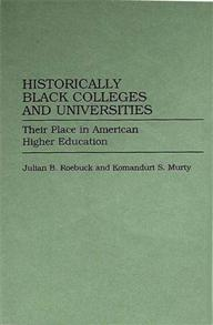 Historically Black Colleges and Universities cover image