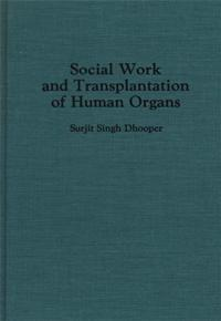 Social Work and Transplantation of Human Organs cover image