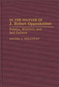 In the Matter of J. Robert Oppenheimer cover image