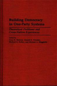 Building Democracy in One-Party Systems cover image