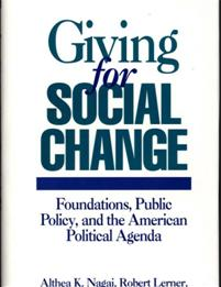 Giving for Social Change cover image