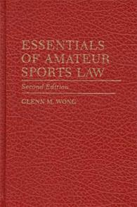 Essentials of Amateur Sports Law cover image