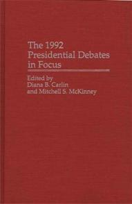 The 1992 Presidential Debates in Focus cover image