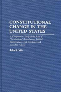 Constitutional Change in the United States cover image