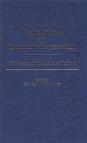 Popular Justice and Community Regeneration cover image