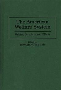 The American Welfare System cover image