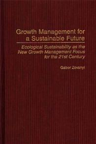 Growth Management for a Sustainable Future cover image