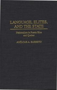 Cover image for Language, Elites, and the State