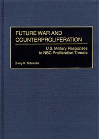 Future War and Counterproliferation cover image