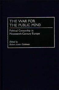 The War for the Public Mind cover image