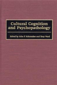 Cultural Cognition and Psychopathology cover image