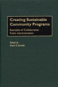 Creating Sustainable Community Programs cover image