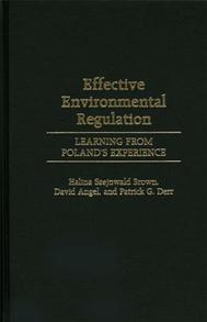 Effective Environmental Regulation cover image