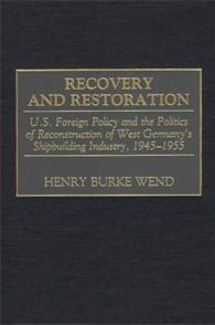 Recovery and Restoration cover image