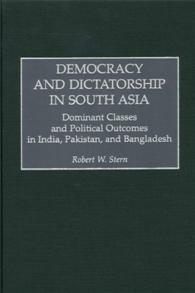 Democracy and Dictatorship in South Asia cover image