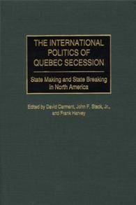 The International Politics of Quebec Secession cover image
