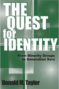 The Quest for Identity cover image