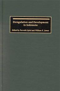 Deregulation and Development in Indonesia cover image
