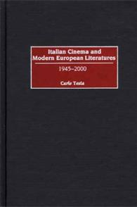 Italian Cinema and Modern European Literatures cover image