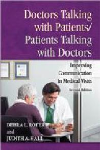 Doctors Talking with Patients/Patients Talking with Doctors cover image