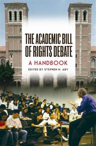 The Academic Bill of Rights Debate cover image