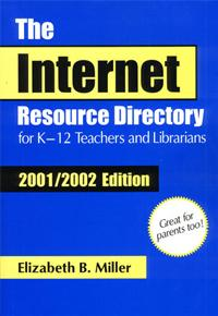 The Internet Resource Directory for K-12 Teachers and Librarians cover image