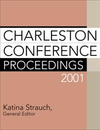Charleston Conference Proceedings 2001 cover image