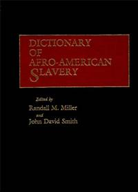 Dictionary of Afro-American Slavery cover image