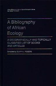 A Bibliography of African Ecology cover image