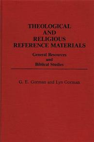 Theological and Religious Reference Materials cover image