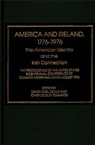 America and Ireland, 1776-1976 cover image