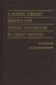 A Public Library Service for Ethnic Minorities in Great Britain. cover image