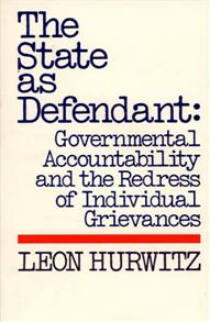 The State as Defendant cover image