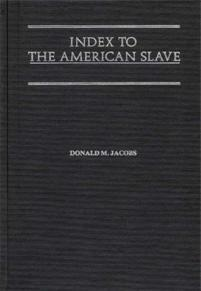 Index to The American Slave cover image