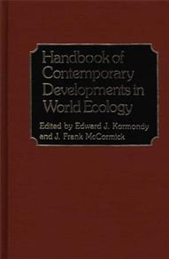 Handbook of Contemporary Developments in World Ecology cover image